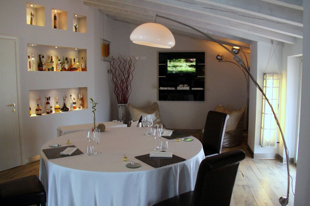 ristorante officina cucina presso i monaci sotto le stelle brescia chef andrea mainardi