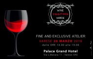 Wine Tasting Varese - Terza Edizione - 20 marzo @ Palace Grand Hotel - Varese
