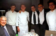 Cartoline da Goût de France 2016 - Ristorante Gaudio - Barbariga (BS) - Patron fratelli Papa - Chef Diego Papa