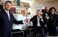 Presentazione dei prodotti Selezione esclusiva Trussardi e del menu di primavera del Trussardi alla Scala - Chef Roberto Conti