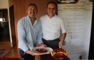 Cartoline dal 580mo Meeting VG @ Ristorante La Peca - Lonigo (VI) - Chef Nicola Portinari, Maître Pierluigi Portinari