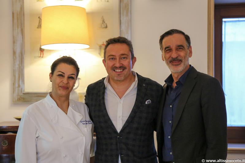Osteria Già Sotto l'Arco - Carovigno (BR) - Patron Teodosio e Teresa Buongiorno, Chef Teresa Buongiorno