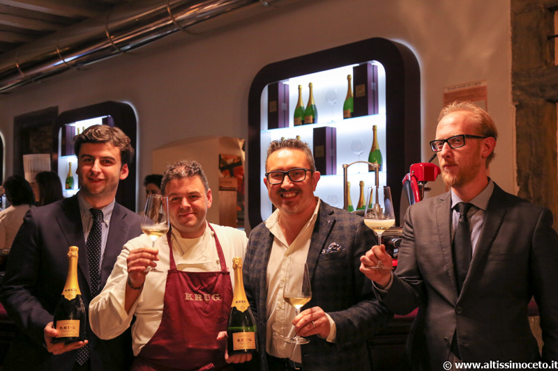 Serata Krug al Ristorante LoRo – Trescore Balneario (BG) – Chef/Patron Pier Antonio Rocchetti, Patron Francesco Longhi