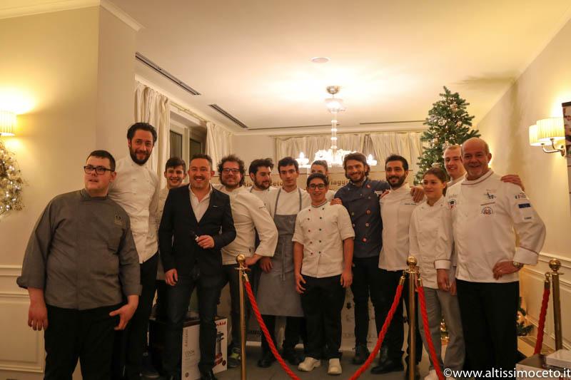 Cartoline dalla Cena di Gala e Premiazioni della Festa delle Feste 2016 Winter edition by Viaggiatore Gourmet - Villa Necchi alla Portalupa - Gambolò (PV)
