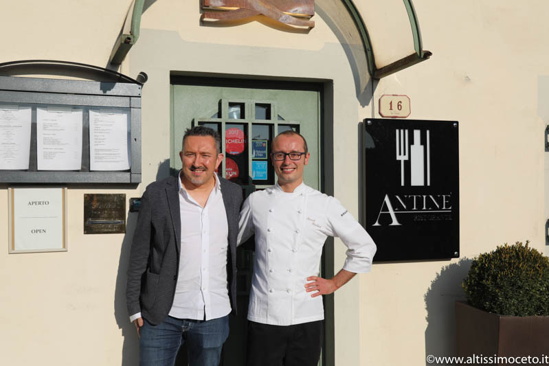 Ristorante Antinè - Barbaresco (CN) - Chef Manuel Bouchard