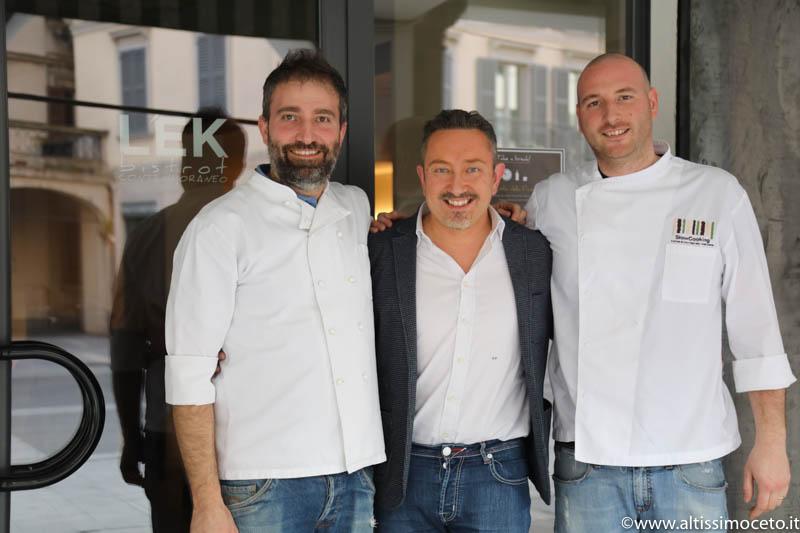 L'EK Bistrot Contemporaneo -  Lecco - Chef/Patron Luca Dell'Orto e Marco Locatelli