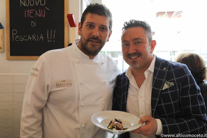 Pescaria | Pescatori in cucina - Milano - Chef Lucio Mele