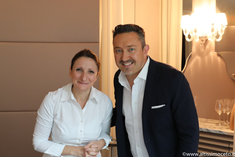 Cartoline dal 651mo Meeting VG @Anne-Sophie Pic Le restaurant - Valence (France) - Chef/Patron Anne-Sophie Pic