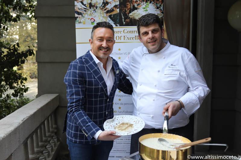 Cartoline dal 644mo Meeting VG @ Ilario Vinciguerra Restaurant – Gallarate (VA) – Chef/Patron Ilario Vinciguerra