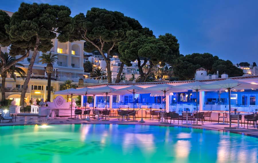 Grand Hotel Quisisana e Ristorante Rendez-Vous - Capri (NA) - Patron Fam. Morgano, GM Adalberto Cuomo, Chef Stefano Mazzone