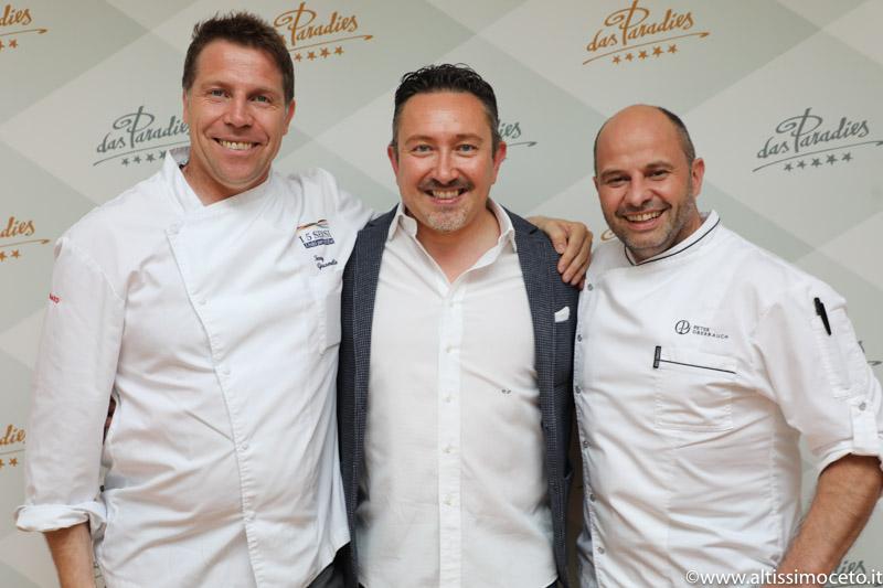 Cena a quattro mani @Ristorante Paradiso dell'Hotel Das Paradies – Laces (BZ) – Chef Peter Oberrauch, Chef Ospite Terry Giacomello