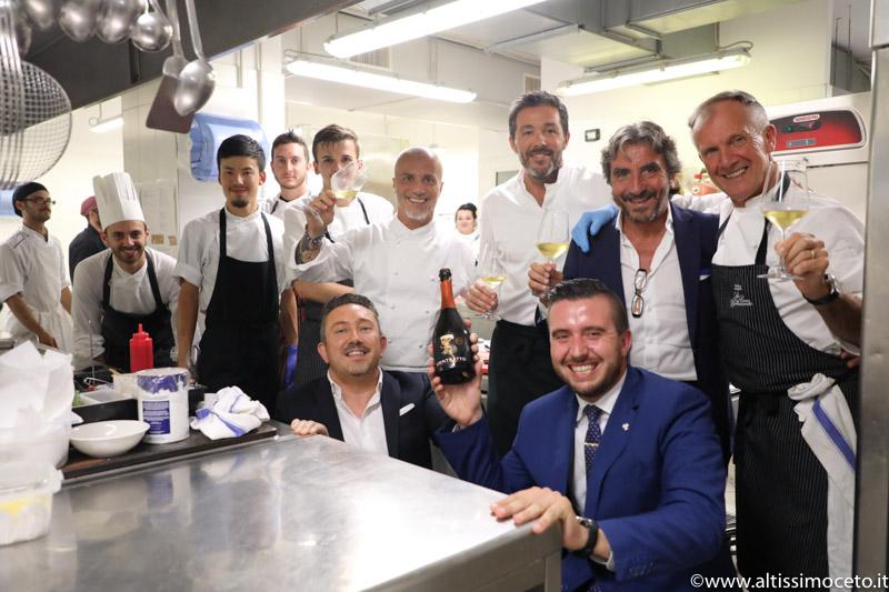 Cartoline da The Starring Nights - Cena a 6 mani al Gazebo Restaurant @GH Alassio - Alassio (SV) - Executive Chef Roberto Balgisi, Guest Chef Davide Palluda e Maurilio Garola
