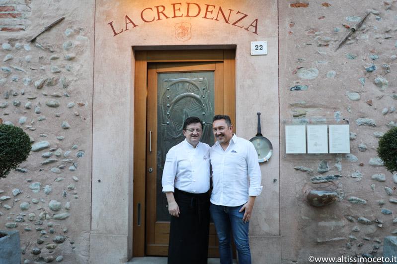 Ristorante La Credenza - San Maurizio Canavese (TO) - Chef Igor Macchia, Patron Giovanni Grasso