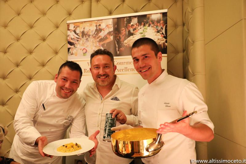 Cartoline dal 687mo Meeting VG @ Ristorante Terrazza Gallia – Milano – Chef Vincenzo e Antonio Lebano