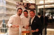 Cartoline dal 700mo Meeting VG @La Veranda del Four Seasons Hotel – Milano – Chef Vito Mollica, Chef de Cuisine Marco Veneruso