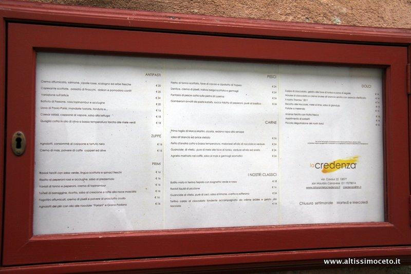 La Credenza San Mauro : Cartoline dal mo meeting vg ristorante la credenza u san