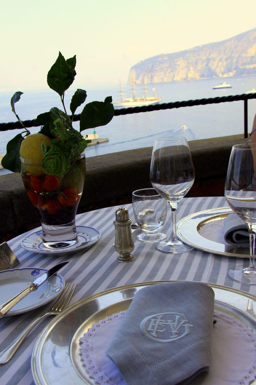 Ristorante Terrazza Bosquet Del Grand Hotel Excelsior