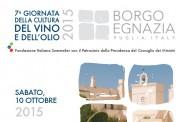 Giornata della cultura del vino e dell'olio 2015 - 10 Ottobre 2015 - Borgo Egnazia - Savelletri di Fasano (BR)