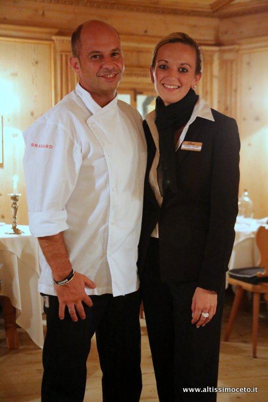Ristorante Paradiso dell'Hotel Das Paradies - Laces (BZ) - Patron Famiglia Pirhofer, Executive Chef Peter Oberrauch