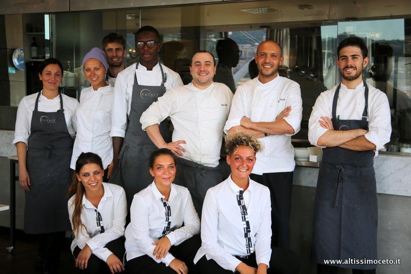 Cartoline dal 475mo Meeting VG @ Ristorante Il Marin – Eataly Genova – Genova – Patron Famiglia Farinetti, Chef Marco Visciola