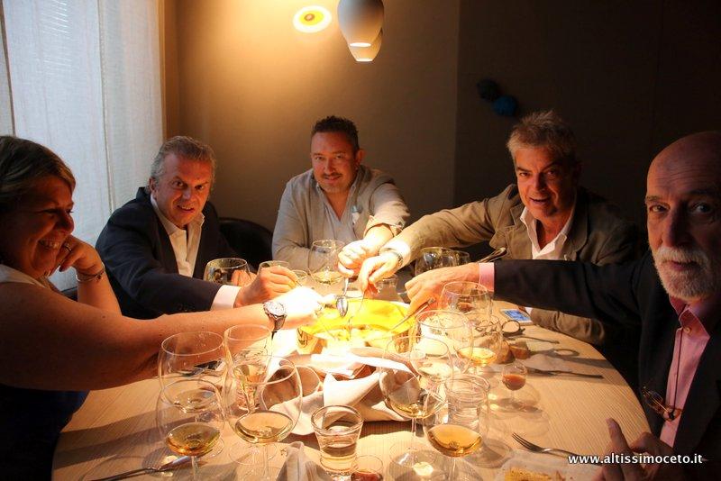 Cartoline dal 487mo Meeting VG @ Le Calandre – Sarmeola di Rubano (PD) – Chef Massimiliano Alajmo, Patron Famiglia Alajmo