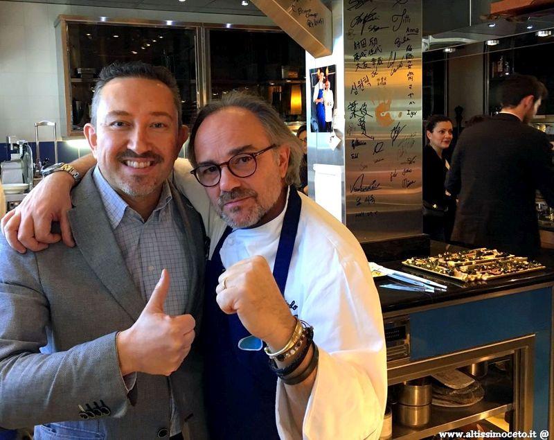 Press Lunch @ Piccolo Lago di Verbania - Lo chef Marco Sacco presenta il nuovo menù e i nuovi membri dello staff di sala e cucina