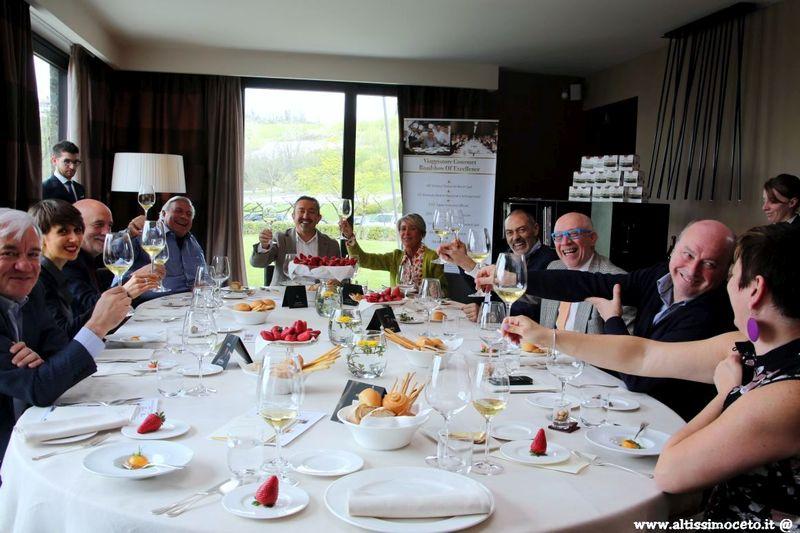 Cartoline dal 544mo Meeting VG @ Relais Villa d'Amelia – Benevello (CN) – Chef Damiano Nigro