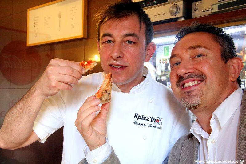 Giò Il Pizz'ino - Alessandria - Maestro pizzaiolo Giuseppe Giordano