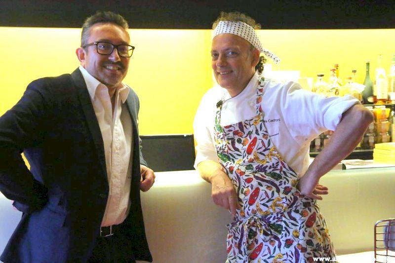Cartoline dal 560mo Meeting VG @ Ristorante La Madonnina del Pescatore – Senigallia – Chef Moreno Cedroni