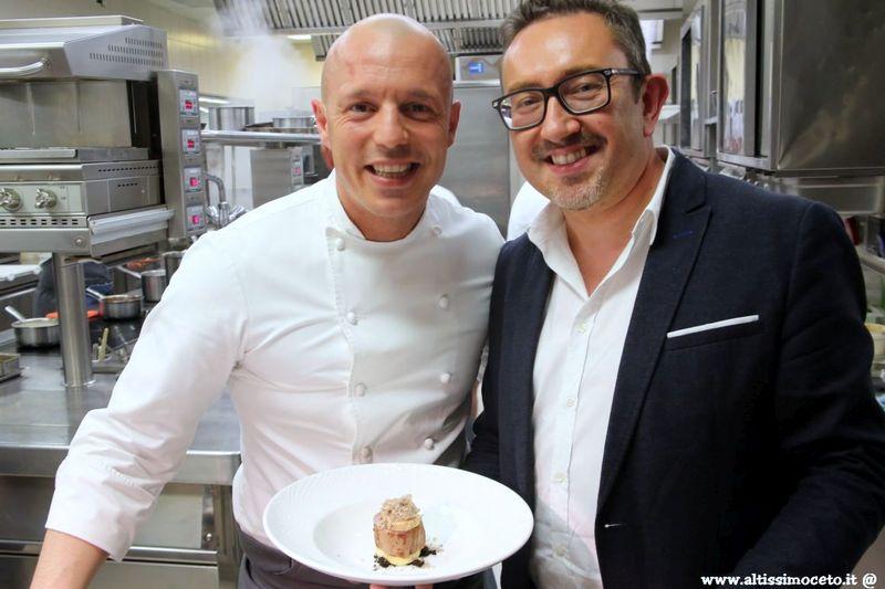 Cartolina dal 564mo Meeting VG @ Trussardi alla Scala Il Ristorante - Milano - Chef Roberto Conti