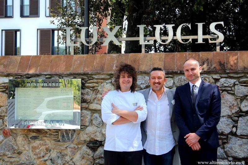 Ristorante Lux Lucis dell'Hotel Principe Forte dei Marmi - Forte dei Marmi (LU) - GM Cristina Vascellari, chef Valentino Cassanelli