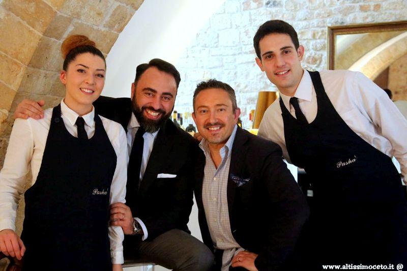 Ristorante Pashà - Conversano (BA) - Patron Antonello Magistà, Chef Maria Cicorella