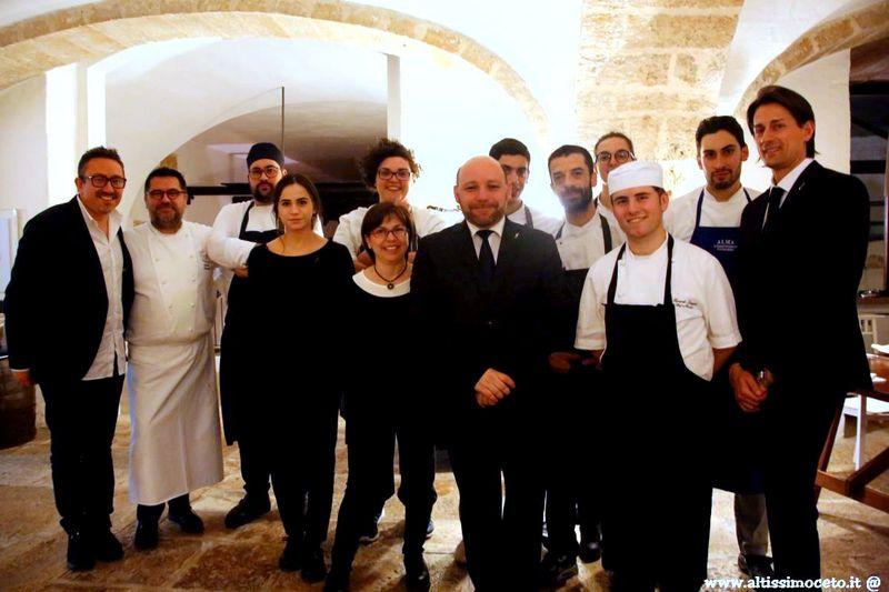 Ristorante Angelo Sabatelli - Monopoli (BA) - Patron Laura Giannuzzi, Chef/Patron Angelo Sabatelli