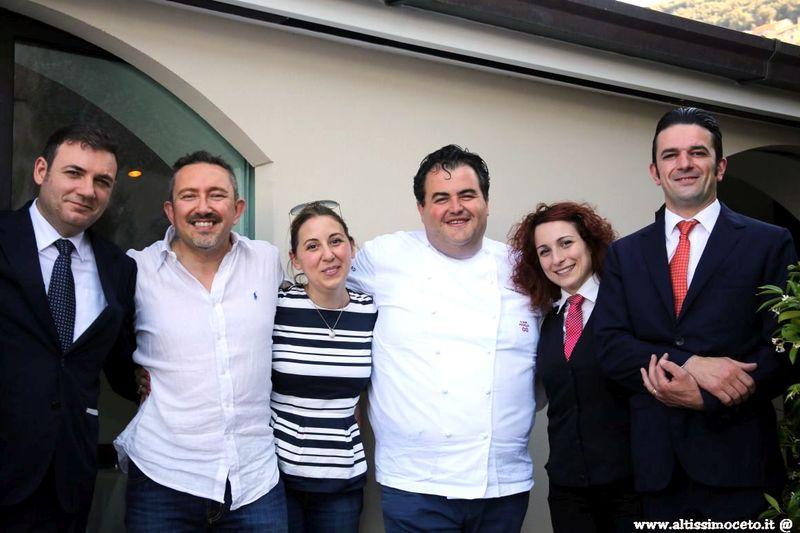 Cartoline dal 567mo Meeting VG @ La Torre del Saracino - Vico Equense (NA) - Chef Gennaro Esposito