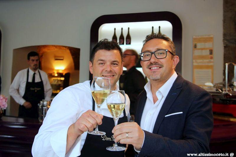 Serata Dom Pérignon al Ristorante LoRo - Trescore Balneario (BG) - Chef/Patron Pier Antonio Rocchetti, Patron Francesco Longhi