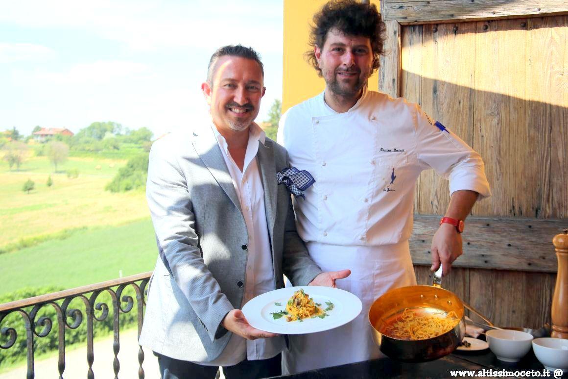 Cartoline del 576mo Meeting VG @ Ristorante La Gallina del Villa Sparina Resort - Gavi (AL) - Patron Fam. Moccagatta, Chef Massimo Mentasti