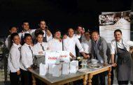 Cartoline del 575mo Meeting VG @ Ristorante Il Marin - Eataly Genova - Patron fam. Farinetti, Chef Marco Visciola