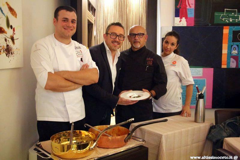 Cartoline dal 585mo Meeting VG @ Ristorante Sadler - Milano - Chef/Patron Claudio Sadler