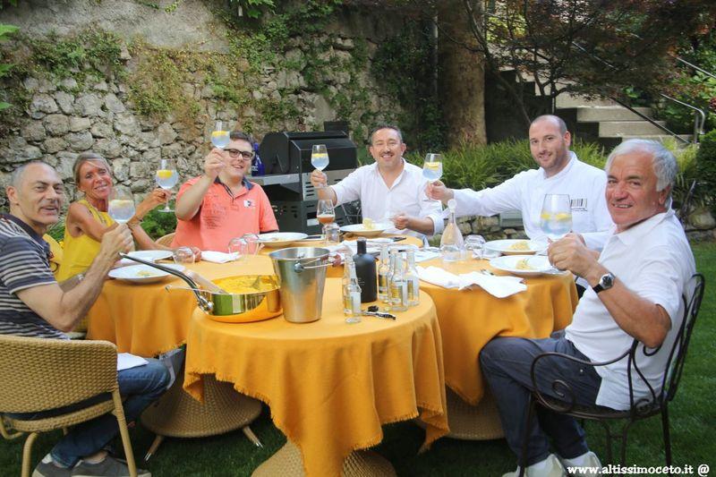 Cartoline dal 581mo Meeting VG @ Ristorante Hotel San Gerolamo - Vercurago (LC) - Chef Luca Dell'Orto