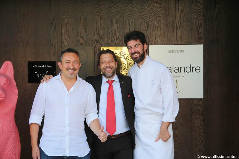 Cartoline dal 591mo Meeting VG @Le Calandre - Sarmeola di Rubano (PD) – Chef Massimiliano Alajmo, Patron Famiglia Alajmo