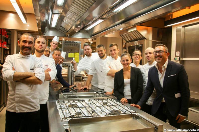 Cartoline dal 588mo Meeting VG @Cannavacciuolo Café & Bistrot - Novara - Chef Vincenzo Manicone