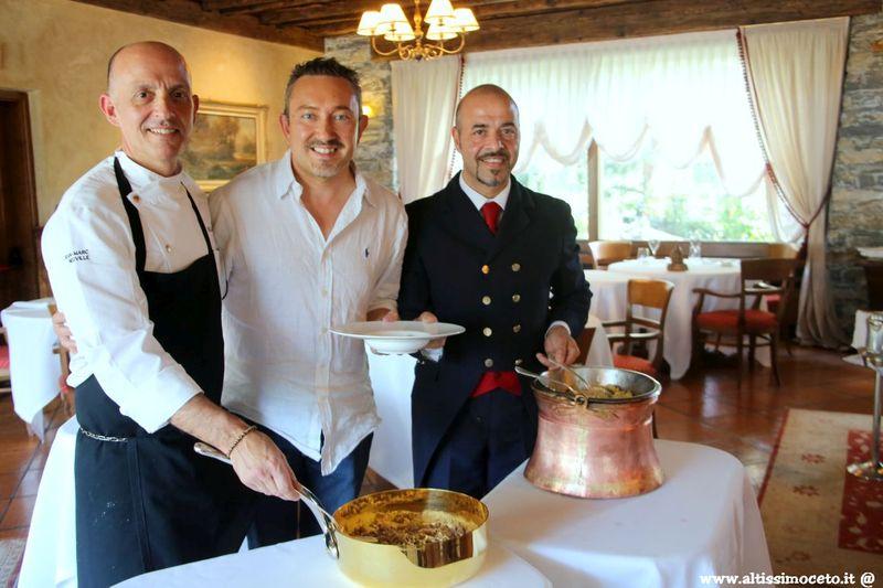 Cartoline del 587mo Meeting VG @ La Cassolette del Mont Blanc Hotel Village - La Salle (AO) - Chef Jean-Marc Neuville