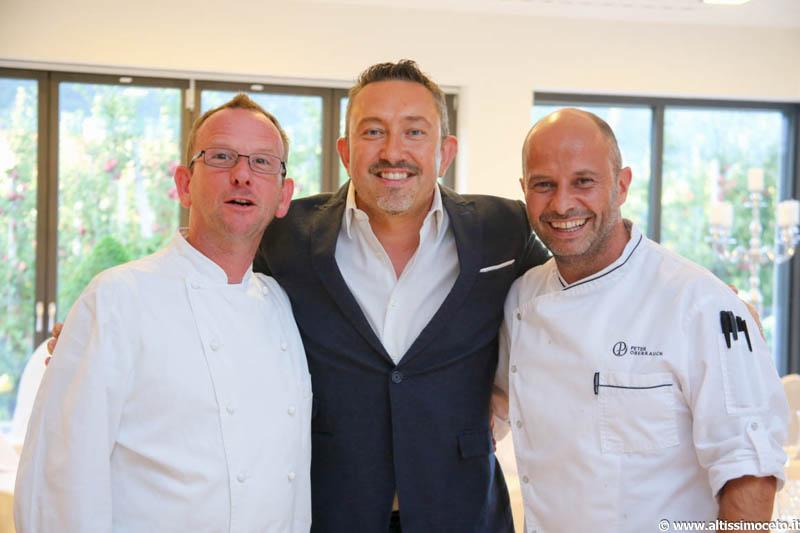 Cena a quattro mani @Ristorante Paradiso dell'Hotel Das Paradies - Laces (BZ) - Chef Peter Oberrauch, Chef Ospite Daniel Facen