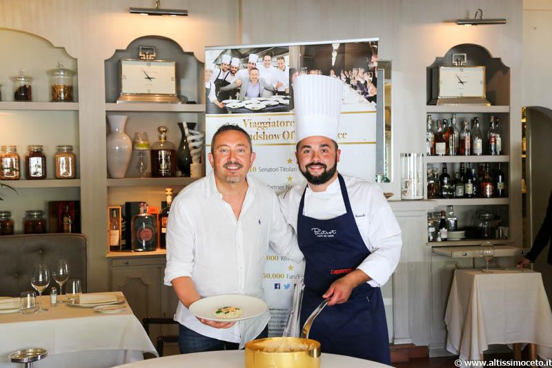Cartoline del 595mo Meeting VG @Bistrot Ristorante - Forte dei Marmi (LU) - Patron Fam. Vaiani, Chef Nicola Gronchi