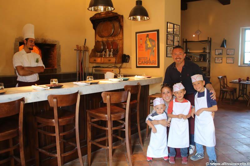 Trattoria Pazzia dell'Hotel Castello di Casole e Cooking Class sulla Pizza - Casole d'Elsa (SI) – Chef Daniele Sera