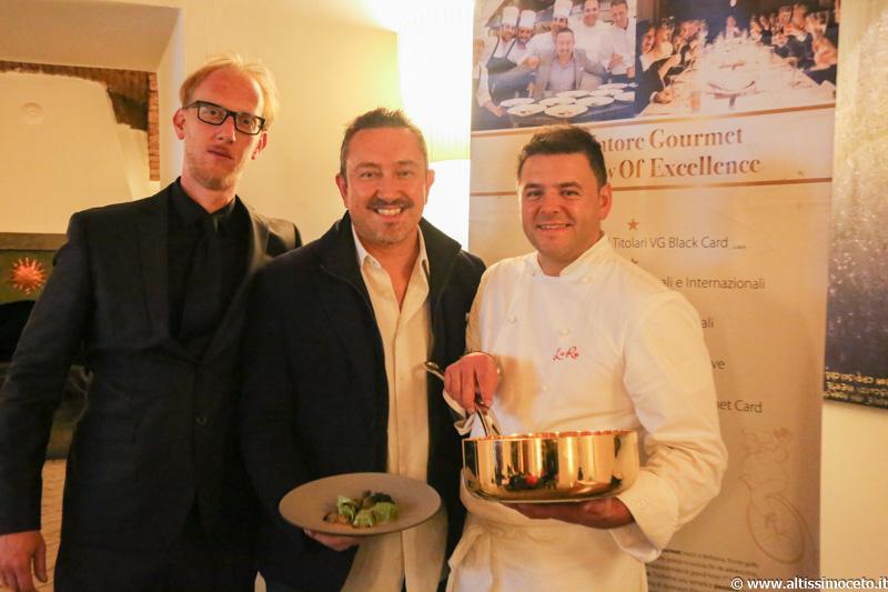 Cartoline dal 602mo Meeting VG @ Ristorante LoRo – Trescore Balneario (BG) – Chef/Patron Pier Antonio Rocchetti, Patron Francesco Longhi