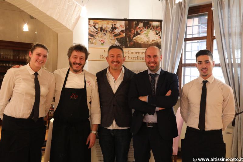 Cartoline dal 628mo Meeting VG @ Ristorante 21.9 – Tenuta Carretta – Piobesi d'Alba (CN) – Chef Flavio Costa