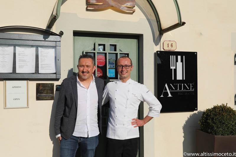 Ristorante Antinè - Barbaresco (CN) - Chef Manuel Bouchard