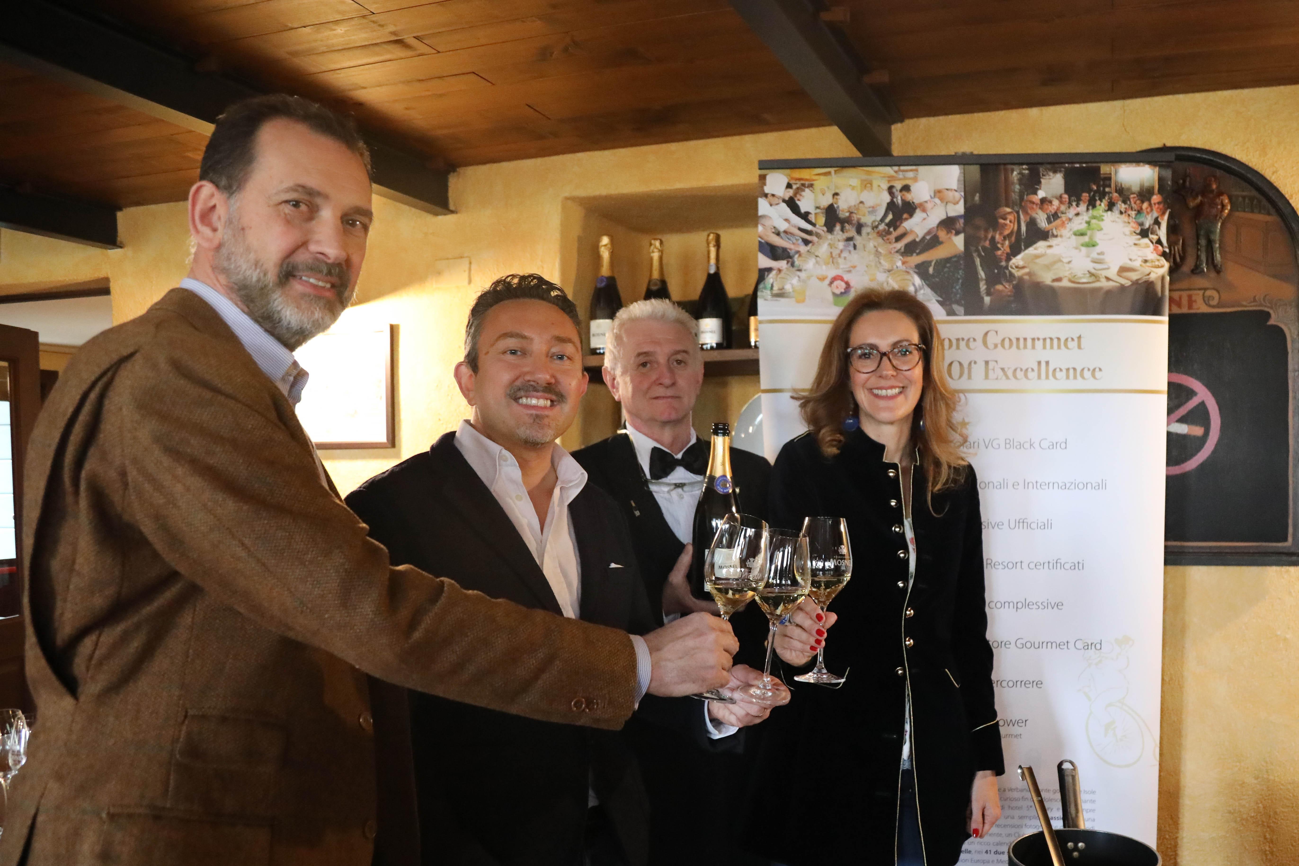 Cartoline dal 640 Meeting VG @ Cantina Mosnel - Camignone di Passirano (BS) - Pranzo a cura dello chef Stefano Cerveni