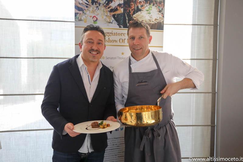 Cartoline dal 637mo Meeting VG @ Inkiostro – Parma – Patron Francesca Poli, Chef Terry Giacomello
